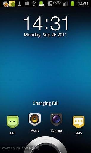 HTC Sence3主题 -魔力锁屏