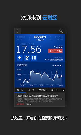 云财经股票情报