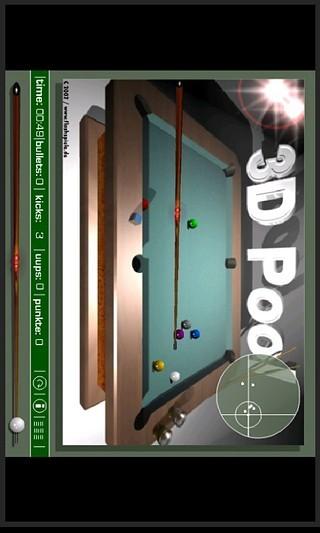 3D桌球游戏大赛