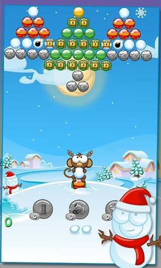 Xmas Bubble Monkey