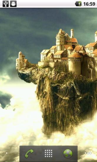 魔幻城堡动态壁纸