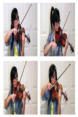 拉小提琴视频