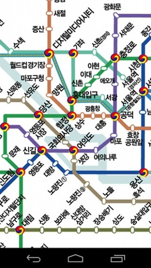 Upgraded Seoul subway(metro) MAP – Bnbhero Blog