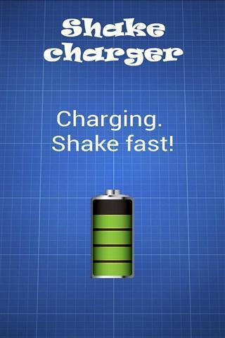 Shake charger