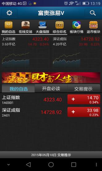 新时代证券富贵涨易
