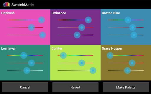 动态调色板SwatchMatic