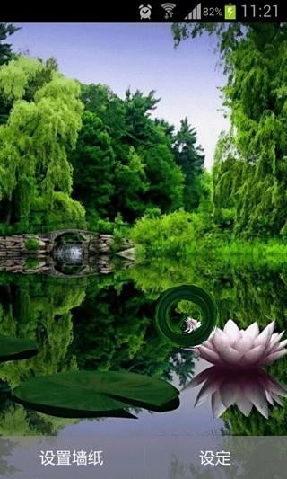 湖泊美景动态壁纸