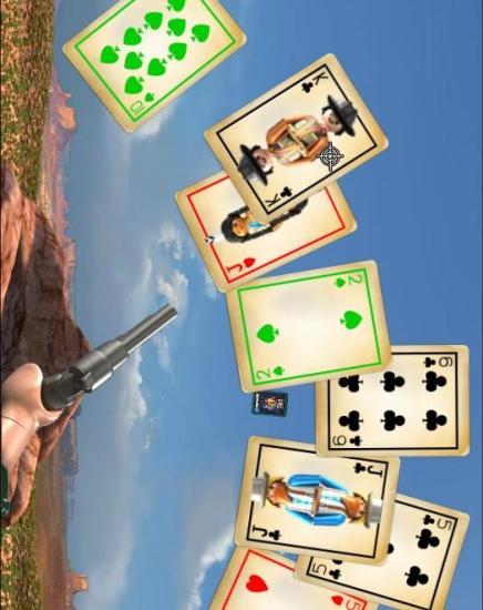 手枪扑克游戏