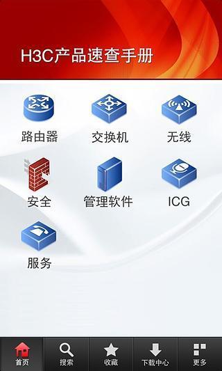 H3C产品速查