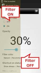 蓝色光波过滤器 - 保护视力 缓解疲劳 眼部健康 眼部护理