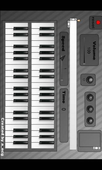钢琴模拟录制器