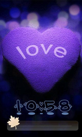 爱你是孤单的心事锁屏