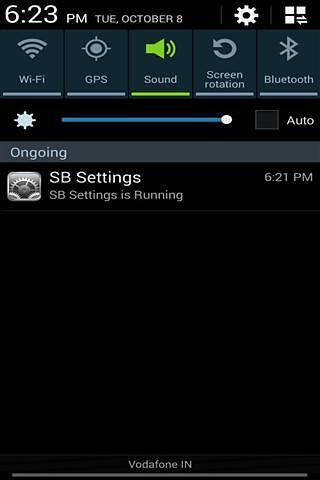 SB Settings