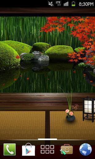 禅宗花园:秋天动态壁纸