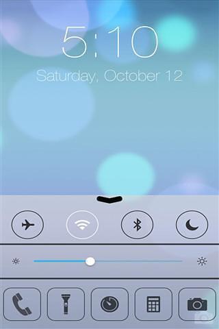 iOS7 锁屏