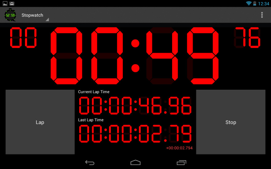 Digital Timer and Stopwatch