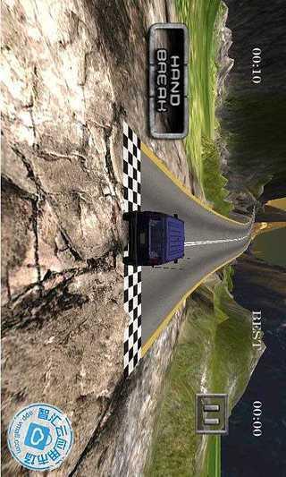 爬坡3D车赛