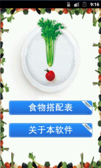 食物营养与禁忌搭配