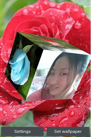 3D玫瑰动态壁纸