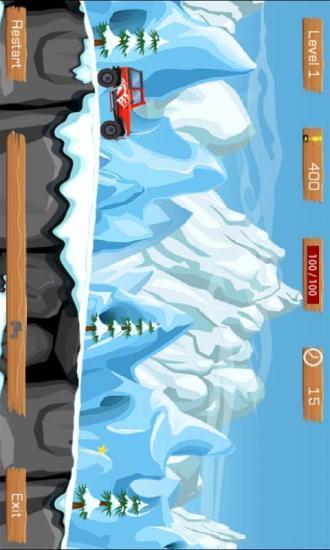雪地赛车游戏