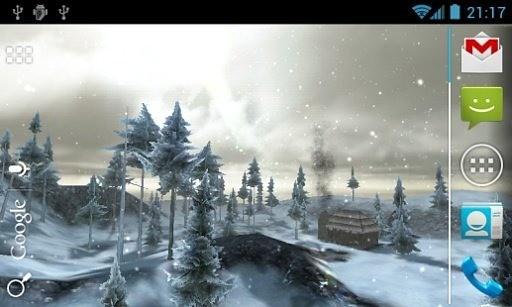 冬季森林3D壁纸