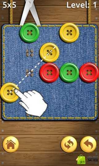 疯狂剪纽扣|玩休閒App免費|玩APPs