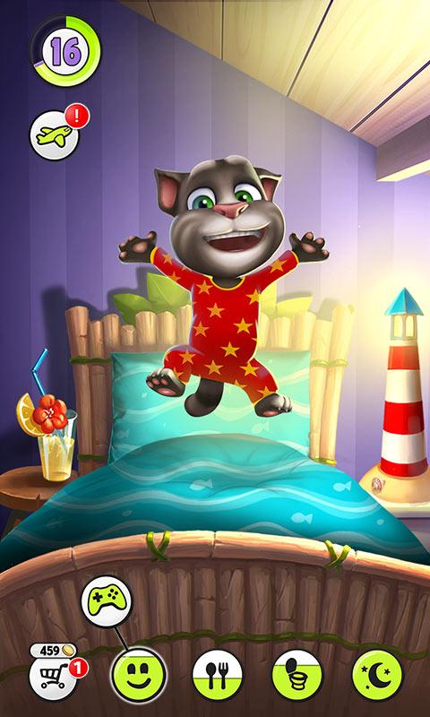 我的汤姆猫游戏截图