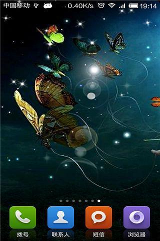 蝴蝶-绿豆秀秀动态壁纸
