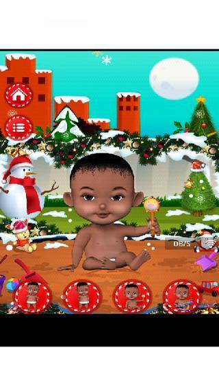 Christmas Baby Nursery Fun Lite