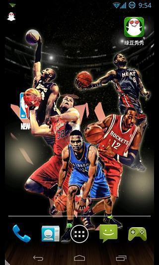 NBA时刻-绿豆秀秀动态壁纸