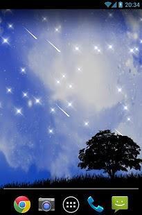 流星雨星空动态壁纸