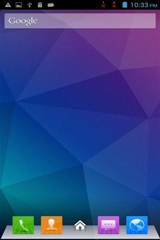 蓝色风格ipad主题