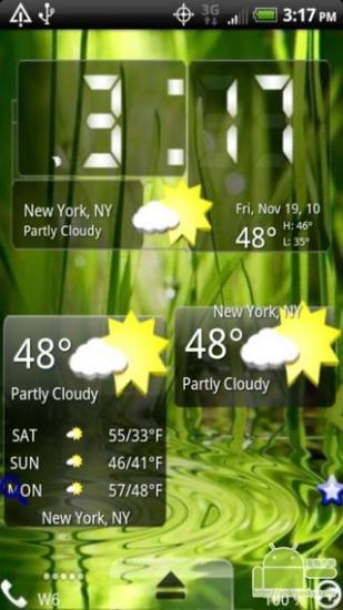 玩免費工具APP|下載3D风格 天气皮肤 app不用錢|硬是要APP