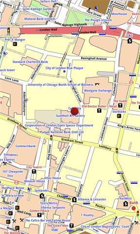 伦敦市地图离线精简版