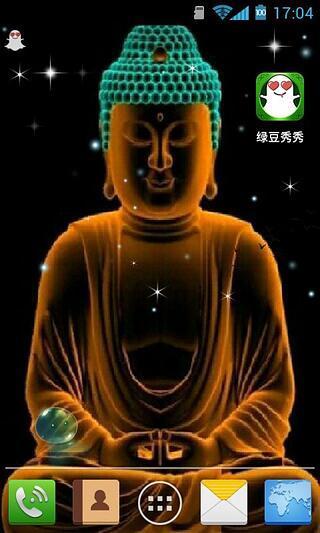 佛祖-绿豆秀秀动态壁纸