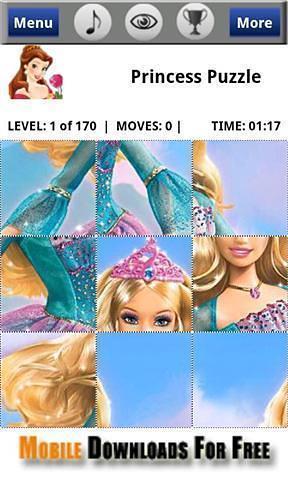 公主拼图 PrincessPuzzle