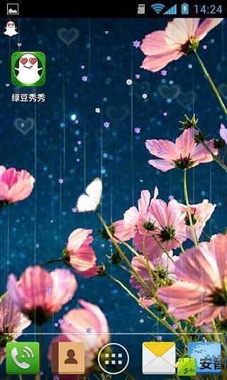 蝶恋花-绿豆秀秀动态壁纸