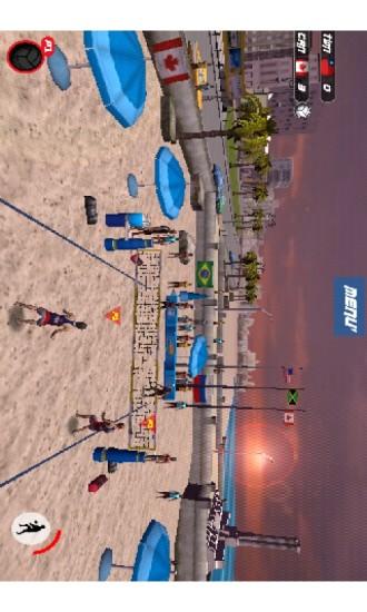 极限沙滩排球