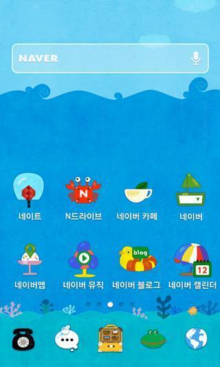 海的故事dodol主题