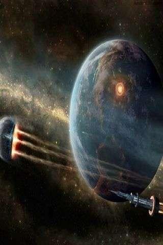 三维宇宙空间壁纸