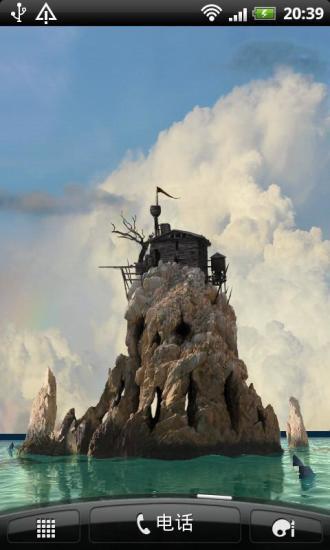 幽灵3D小岛