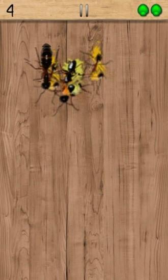 手指压蚂蚁