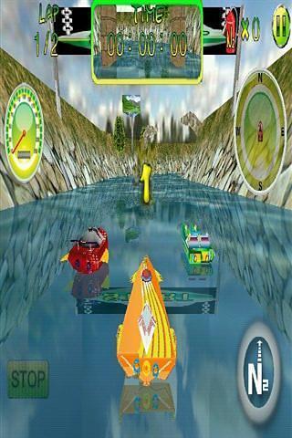 3 d划船比赛