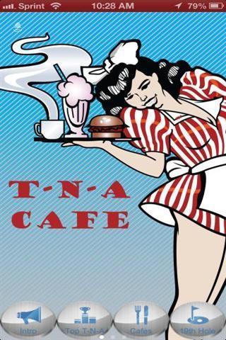 T细胞和一个咖啡馆