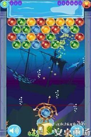 玩免費休閒APP|下載海洋泡泡龙(HD) app不用錢|硬是要APP