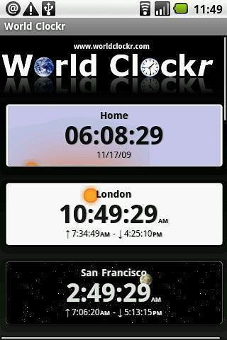 世界时钟(免费版)|玩工具App免費|玩APPs