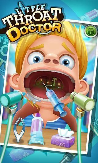 小小喉咙医生 - 儿童游戏