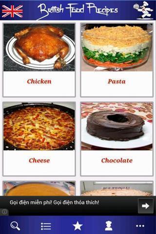英国食品食谱