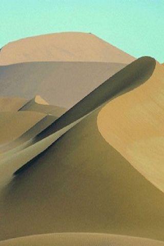 沙漠的照片手机壁纸