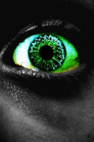 3D 魔法的眼睛壁纸